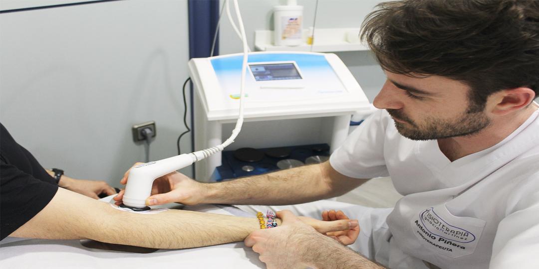diatermia - fisioterapia y osteopatía - clínica ignacio martínez gayoso - Molina de Segura - Murcia