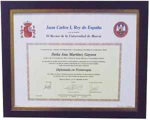Titulaciones Clínica de Fisioterapia y Osteopatía Ignacio Martínez Gayoso en Molina de segura - Murcia